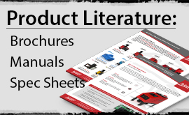 Hot melt equipment product literature
