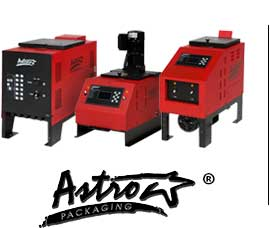 Check out Astro Packging's full line of melting machines for your hot melt application